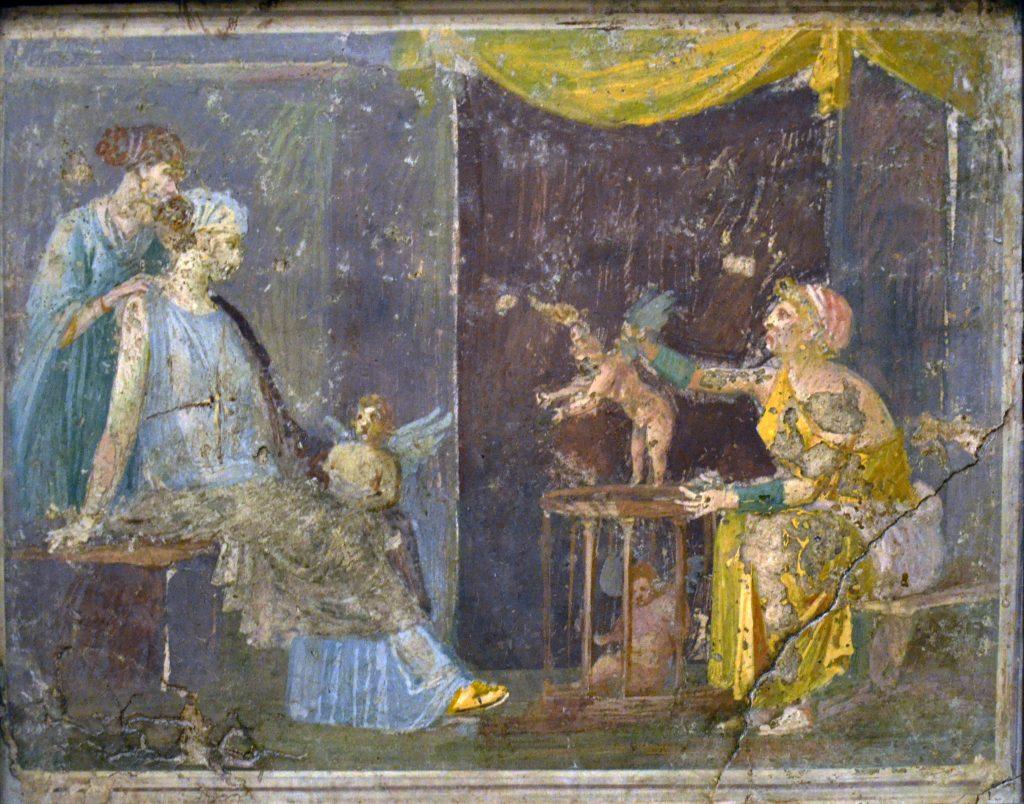 Fig. 2 Stabies villa d'Ariane libération d'Eros MANN 9180 pièce W 28 0862